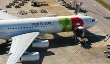 A TAP Air Portugal A340