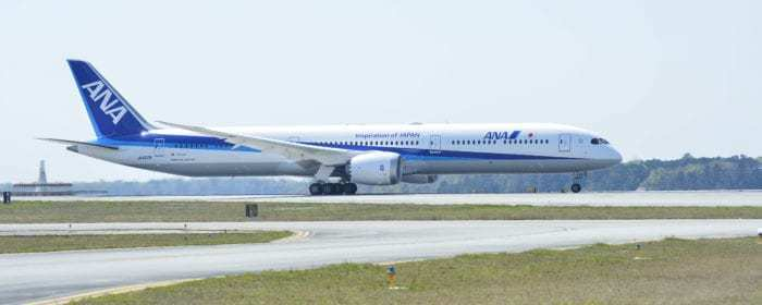 ANA takes delivery of its first 787-10 Dreamliner.
