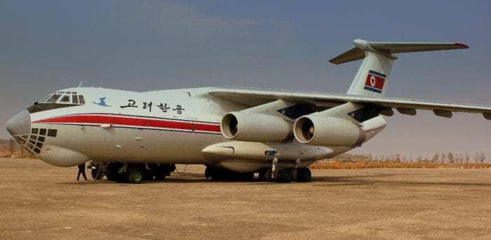 Air Koryo IL-76
