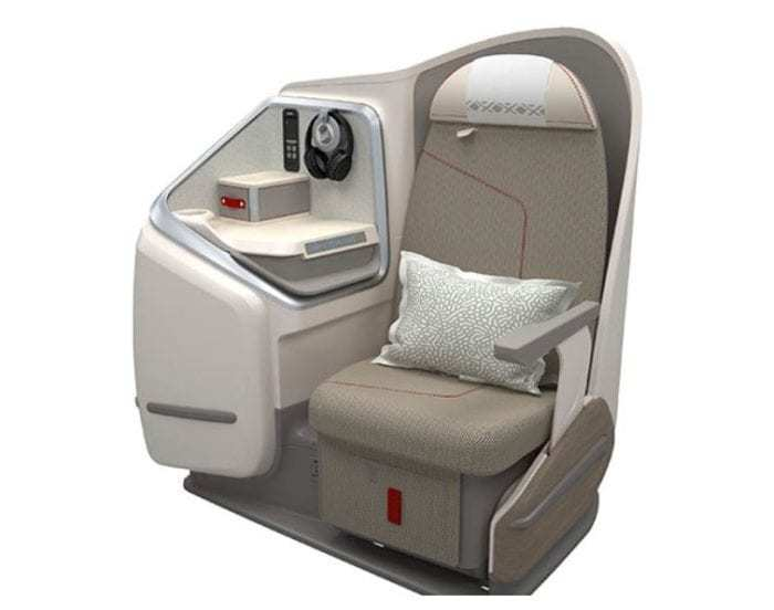 Aircalin A330neo Business Class Seat