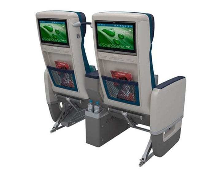 Aircalin A330neo Premium Economy Class Seat Screens