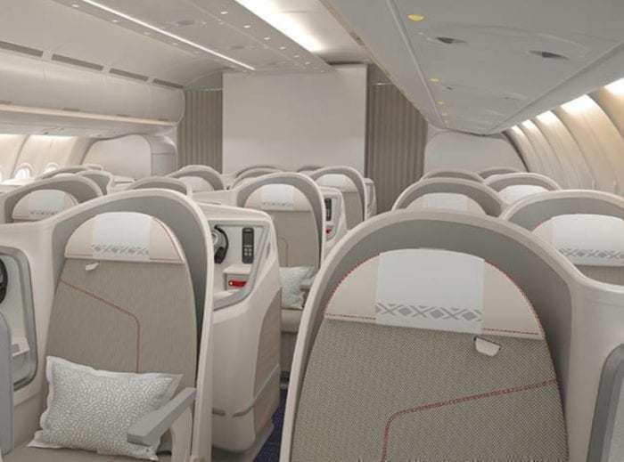 Aircalin Business Hibiscus Class
