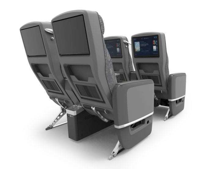 More comfortable seating on the 787-10 Dreamliner.