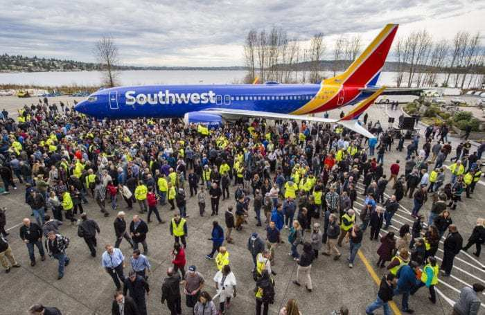 Boeing 737 MAX 8 Southwest Grounding