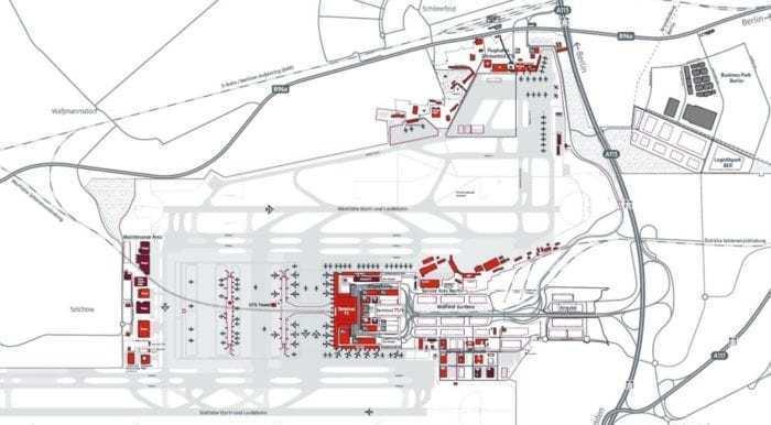 berlin brandenburg airport map When Will Berlin S Brandenburg Airport Actually Open Simple Flying berlin brandenburg airport map