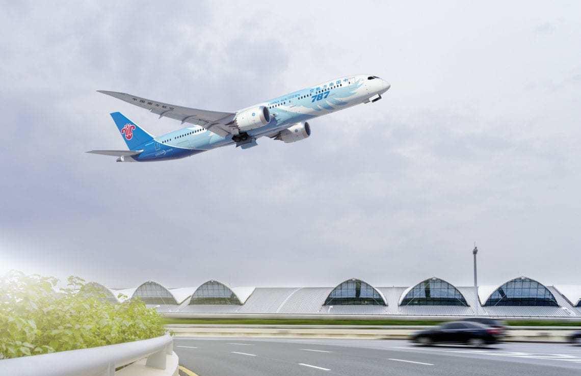 China Southern Boeing 787 Dreamliner Guangzhou