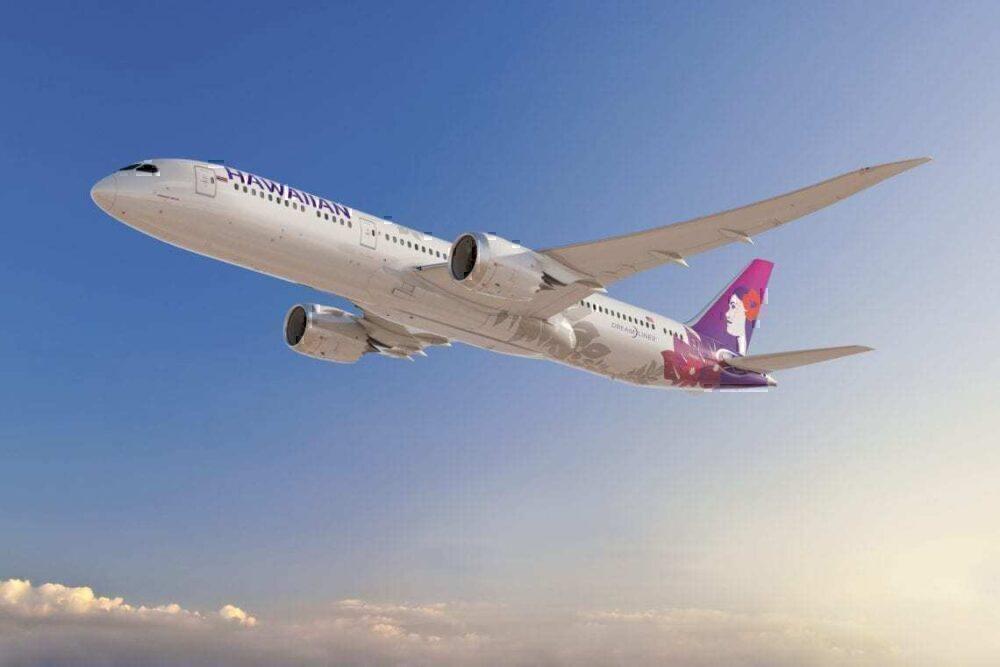 Hawaiian Airlines Dreamliner