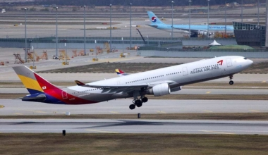 Asiana Airlines Airbus A330-323 at Seoul Incheon International Airport Source: Wikimedia Commons/Asiana Airlines