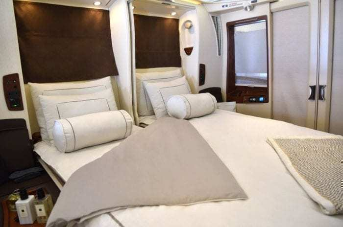 Hi Fly A380 First Class Suite