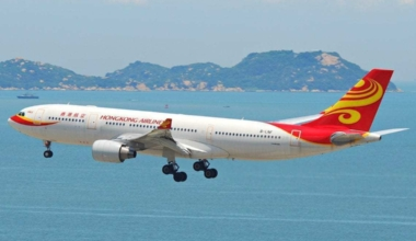 A Hong Kong Airlines Airbus A330-200.