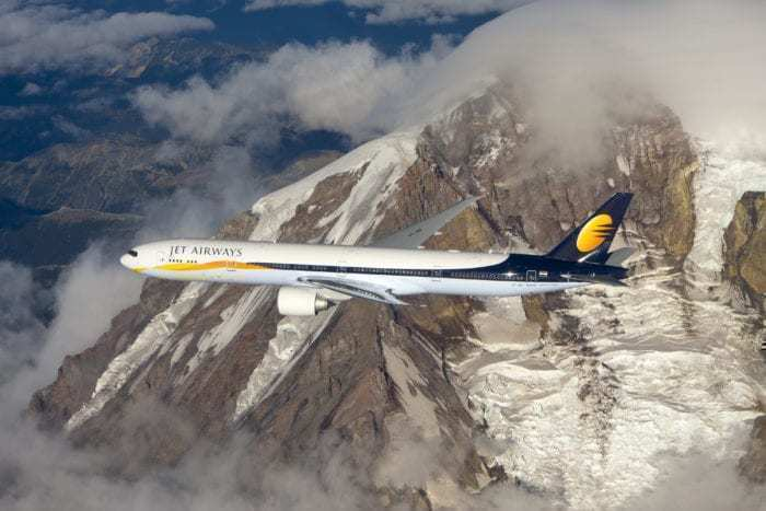 A Jet Airways Boeing 777-300ER