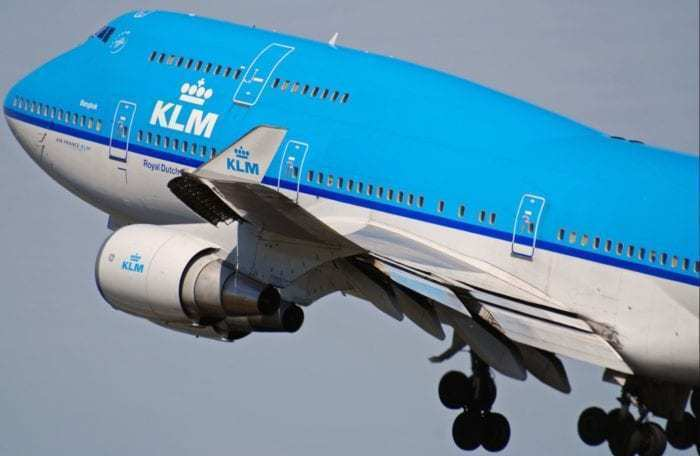 KLM Boeing 747 PH-BFB