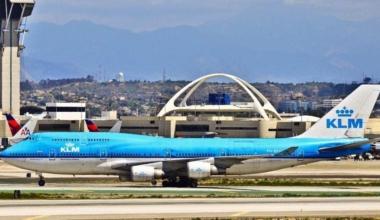 KLM Boeing 747 PH-BFU