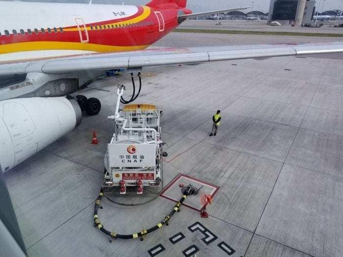 PLane refuelling