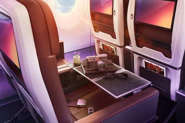 Premium economy Virgin Atlantic