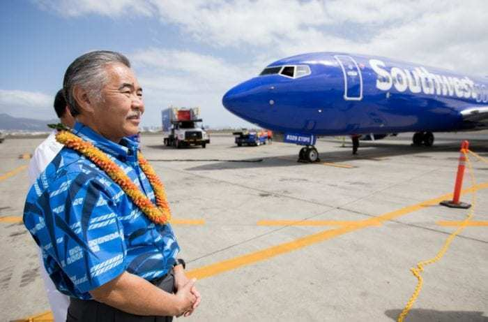 SWA Inaugural Hawaii Flight