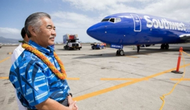 SWA Inaugural Hawaii Flight