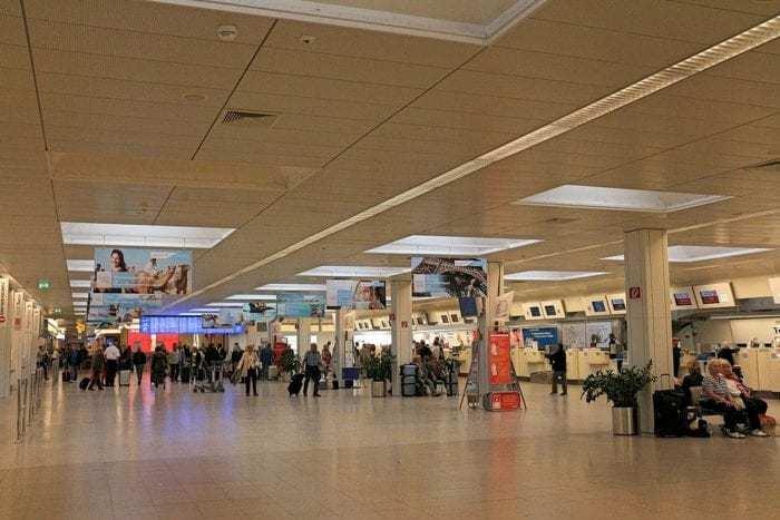 Salzburg Airport Interior