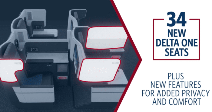Delta Introduces New Boeing 767 Business Class