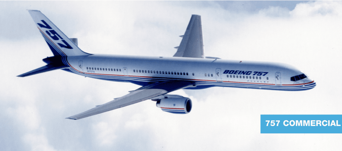 Boeing 757 History 757-200