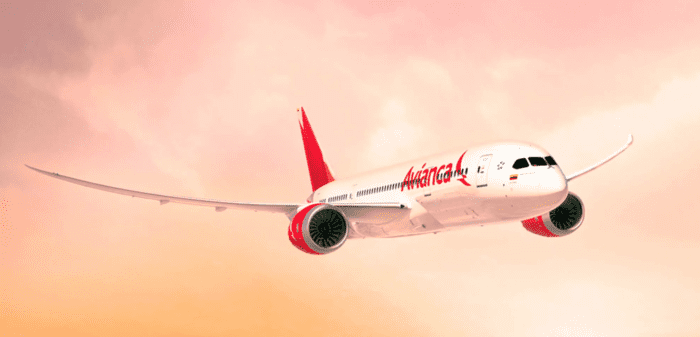Avianca US Routes 787 Dreamliner