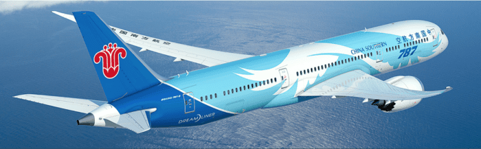 China Southern Boeing 787 Dreamliner