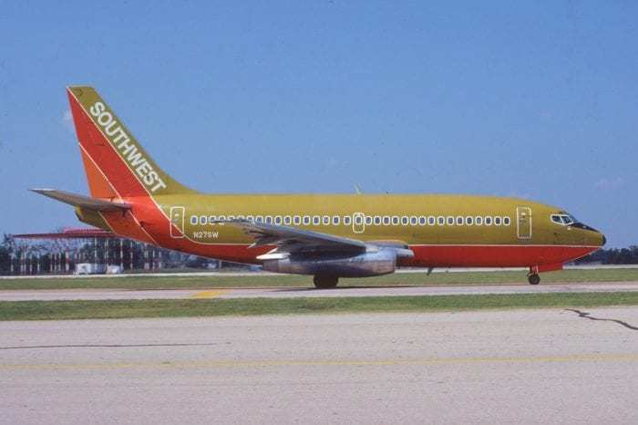 Southwest Airlines have been loyal 737 customers since they launched.