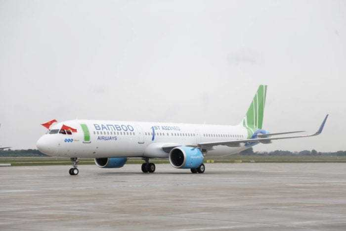 Startup Airline Bamboo Airways Orders 50 Airbus A321neo Aircraft