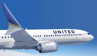 United Boeing 737 MAX 9 Aircraft. Image by Boeing.