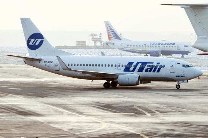 An Utair 737