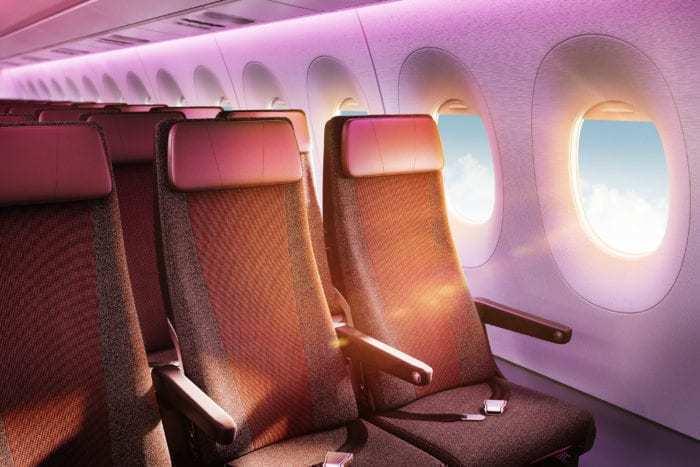 A350 Economy Cabin