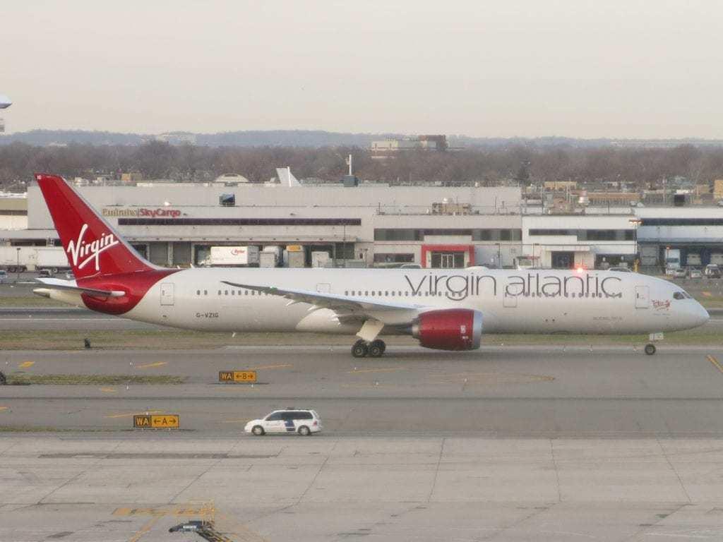 A Virgin Atlantic Boeing 787-400