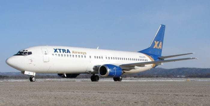 XTRA Airways Boeing 737-400