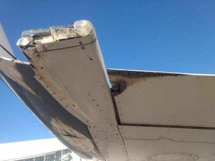 AeroMexico E-170 Wingtip Strike