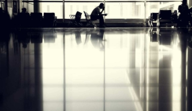 Delays are a normality in air travel.