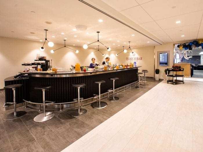 British Airways Club Lounge at JFK