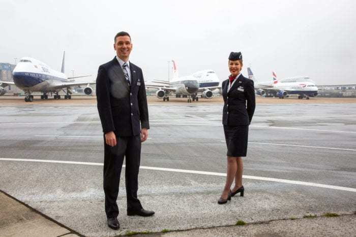British Airways Retro Aircraft Extravaganza: All 4 Planes Land At Once