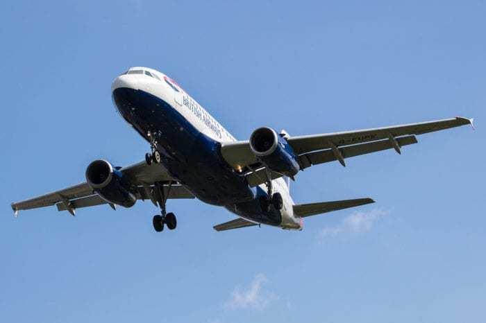 A319 landing at Heathrow Picture by Nick Morrish/British Airways