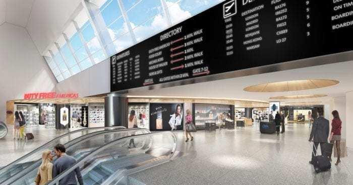 British Airways Terminal 7 JFK