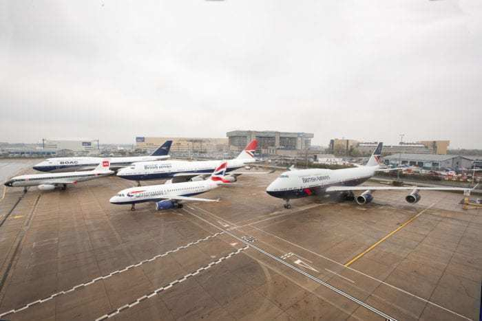 The Evolution Of The British Airways Livery