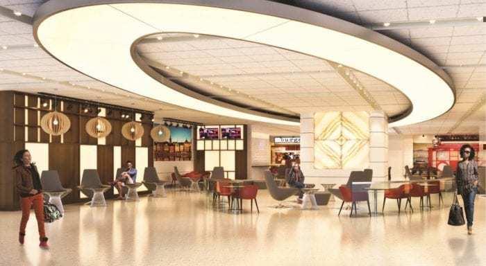 British Airways JFK food court