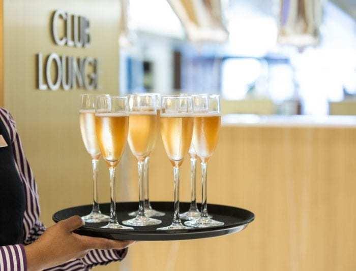 British Airways Club Lounge
