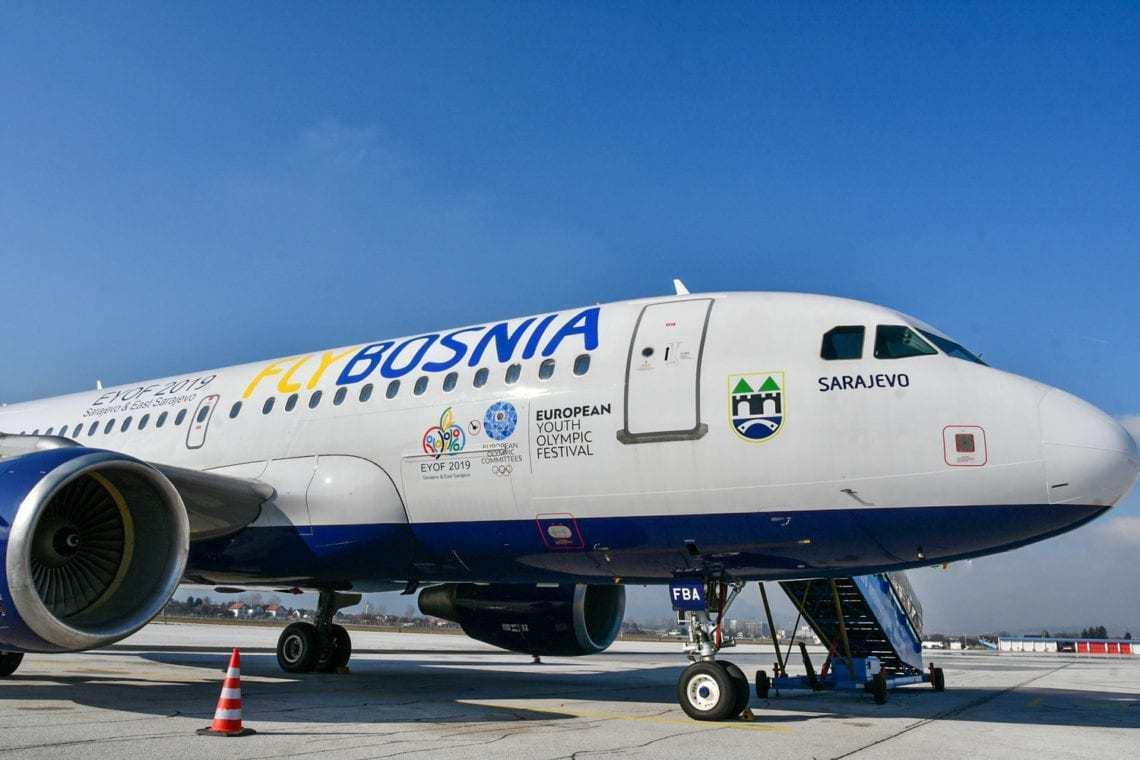 FlyBosnia's A319 fleet is set to grow.