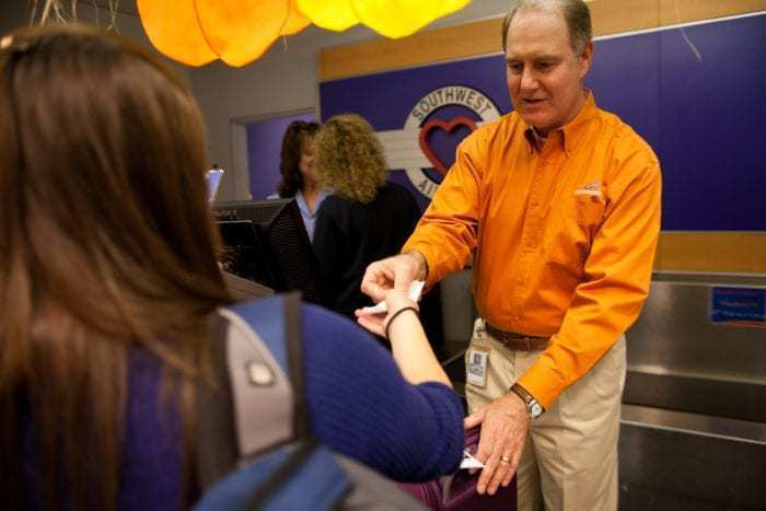 Southwest Airlines CEO Gary Kelly Visits Dallas Love Field