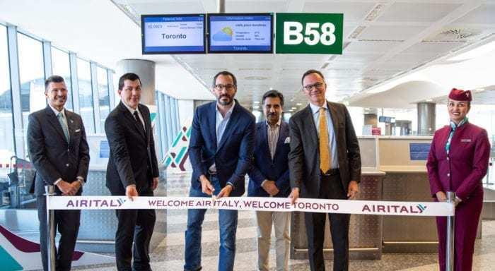 Air Italy at Toronto
