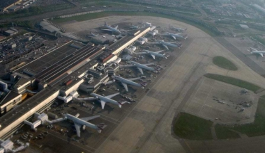 London Heathrow Airport from Above