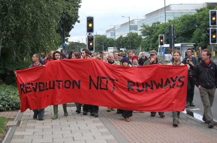 Protests against Heathrow Expansion