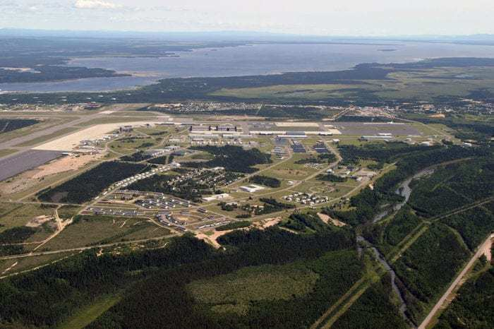 Goose Bay Airport, Labrador, Canada.