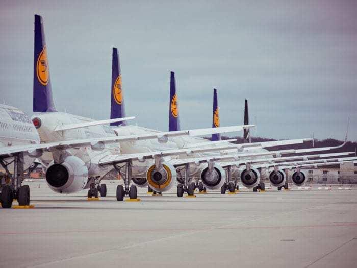 Frankfurt Airport Lufthansa