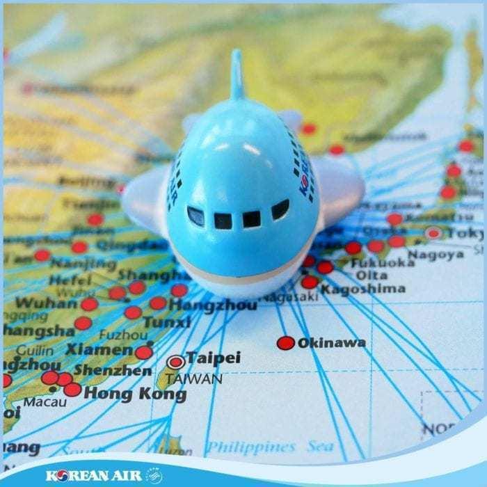 Korean Air routes